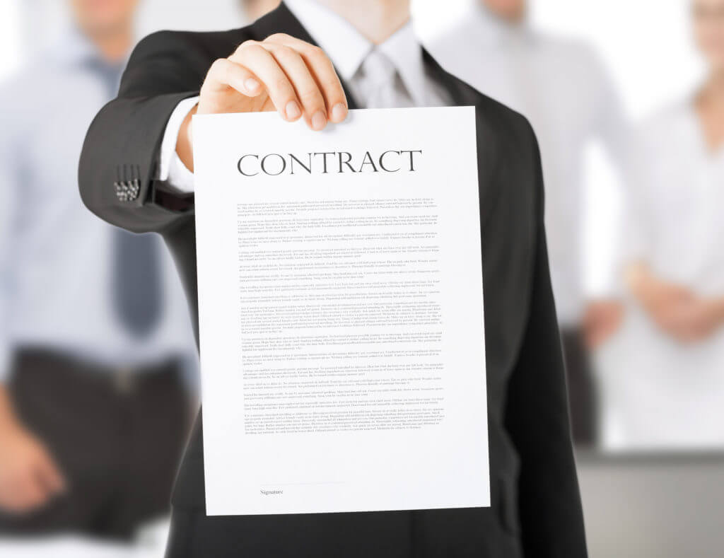 SIGN A TIMESHARE CONTRACT OUTSIDE OF THE RESORT